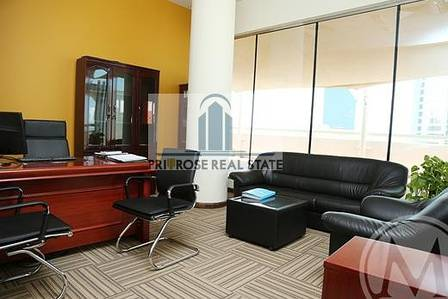 Office for Rent in Deira, Dubai - INDEPENDENT OFFICE INCLUDING CHILLER DEWA WIFI