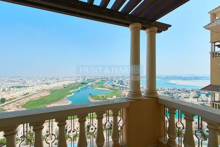 2 Bedroom Flat for Rent in Al Hamra Village, Ras Al Khaimah - Executive 2 Bedroom with Sunning  Views of the Lagoon