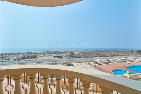Studio for Sale in Al Hamra Village, Ras Al Khaimah -  Big Balcony and Sea Views