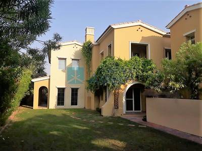 4 Bedroom Townhouse for Rent in Arabian Ranches, Dubai - Lake Views|Single Row|Large Corner Villa