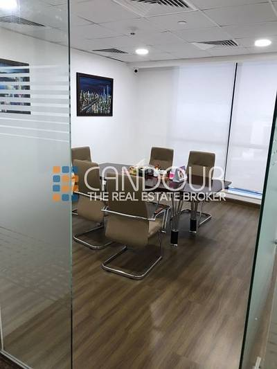 Office for Sale in Jumeirah Lake Towers (JLT), Dubai - Excellent Deal   Fully Furnished  Middle Floor