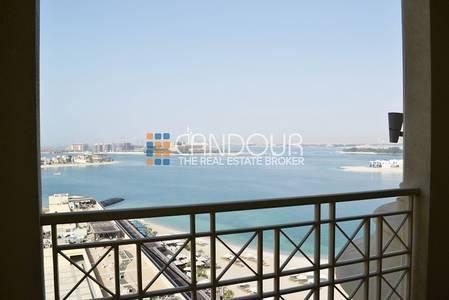 4 Bedroom Apartment for Rent in Palm Jumeirah, Dubai - Full Sea View | Spacious 4 Bedroom plus Maids