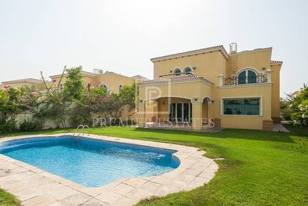 4 Bedroom Villa for Sale in Jumeirah Park, Dubai - Large Legacy Villa 4BR with private pool