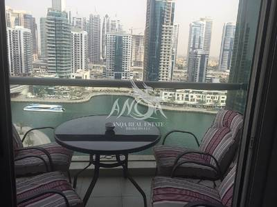 2 Bedroom Flat for Sale in Dubai Marina, Dubai - Fully Furnished 2 BR For Sale In Blakely Tower @ Dubai Marina