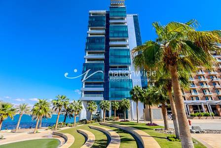 Studio for Rent in Al Raha Beach, Abu Dhabi - Enchanting Studio Apartment with Sea View