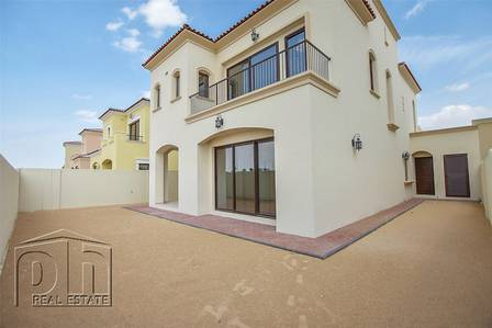 4 Bedroom Villa for Rent in Arabian Ranches 2, Dubai - Brand New - Type 2 - 4 beds - Dark Wood