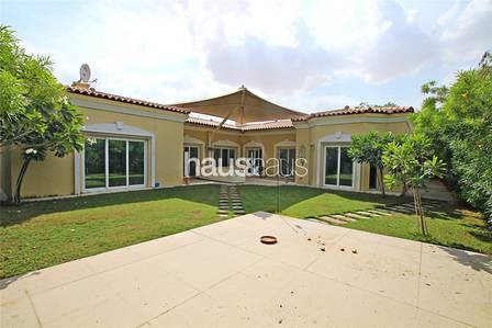 4 Bedroom Villa for Sale in Green Community, Dubai - Upgraded | Opposite Pool and Park | 4 BR