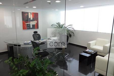Office for Rent in Jumeirah Lake Towers (JLT), Dubai - Fitted and Furnished Office | Low Floor