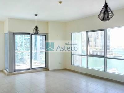 2 Bedroom Apartment for Rent in Dubai Marina, Dubai - Full Marina view chiller free 2BR next to metro