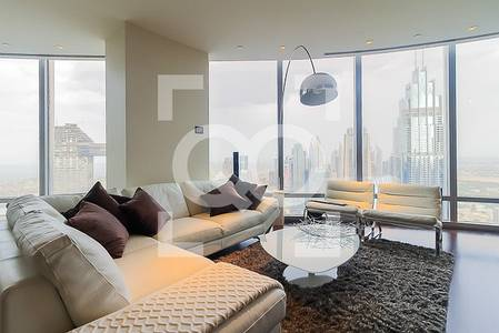 2 Bedroom Flat for Rent in Downtown Dubai, Dubai - SKYLINE / SEA VIEW | 2 BR | VACANT END OF NOV