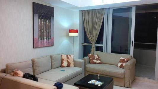 1 Bedroom Flat for Rent in Dubai Marina, Dubai - Fully Furnished 1 Bedroom With Large Terrace In Damac Waves A