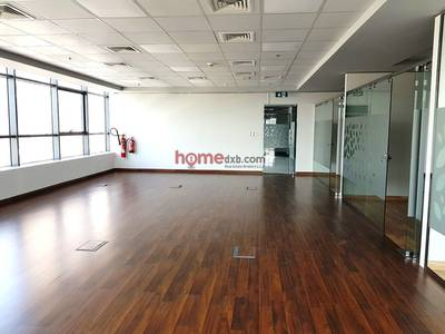 Office for Rent in The Greens, Dubai - Fitted-Partitioned  Office Space