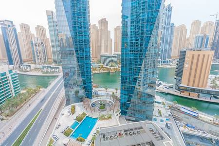 2 Bedroom Flat for Rent in Dubai Marina, Dubai - Fully Furnished