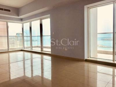 3 Bedroom Flat for Rent in Dubai Marina, Dubai - 3BR Emirate Crown Tower | Marina View