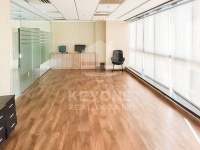 Office for Rent in Jumeirah Lake Towers (JLT), Dubai - Fully Fitted | Vacant | Washroom | Pantry