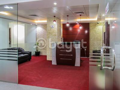 Office for Rent in Al Garhoud, Dubai - Smart Designed Office Space Direct from Landlord
