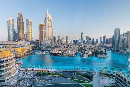 2 Bedroom Apartment for Sale in Downtown Dubai, Dubai - Full Fountain View Luxury Apt. in Armani
