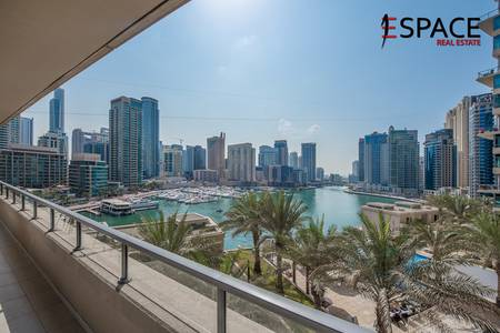 2 Bedroom Flat for Sale in Dubai Marina, Dubai - Full Marina View | Two Bedroom | Rented