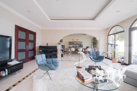 4 Bedroom Villa for Rent in Palm Jumeirah, Dubai - 4 Bed Garden Home Villa Full Atlantis View