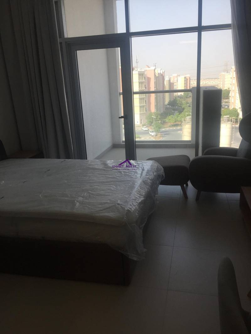 Brand new Fully furnished Studio for rent in Candace Aster Azizi Al Furjan for 34K/yr.