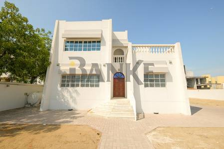 4 Bedroom Villa for Rent in Umm Al Sheif, Dubai - Independent villa sitting on a big plot