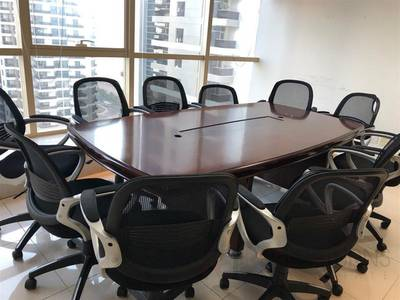 Office for Rent in Jumeirah Lake Towers (JLT), Dubai - Furnished Full Glass Partitions On the Metro