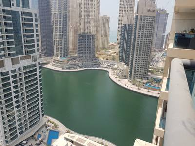 1 Bedroom Flat for Rent in Dubai Marina, Dubai - Fully Furnished 1 Bed with Partial Marina