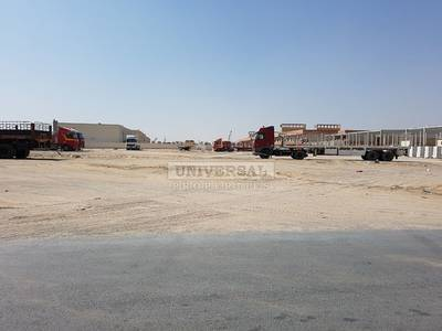 Plot for Sale in New Industrial City, Ajman - 21000 Sqft Industrial Corner Plot Available For Sale in Ajman New Industrial Area