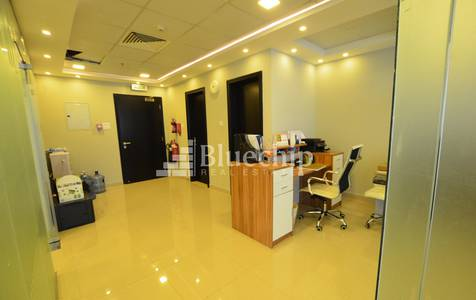 Office for Rent in Jumeirah Village Circle (JVC), Dubai - Fitted & Furnished?Stadium View?Spacious