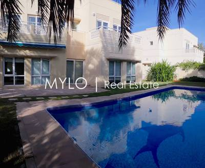 5 Bedroom Villa for Rent in The Meadows, Dubai - Private Pool I 5 BR Family Home I Vacant