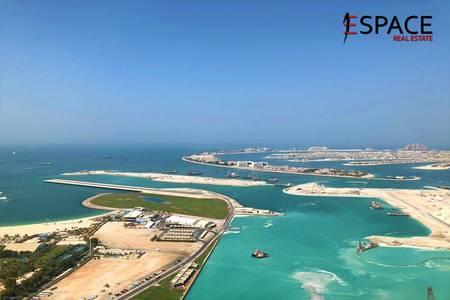 3 Bedroom Apartment for Sale in Dubai Marina, Dubai - Sea and Palm View - Vacant - Spacious