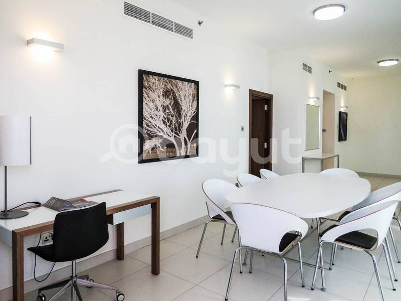 Fully Furnished 3 Bedroom apartment with maids facilities
