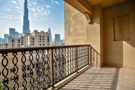 2 Bedroom Apartment for Sale in Old Town, Dubai - | OT Specialist | 2+S | Vacant | Full Burj |