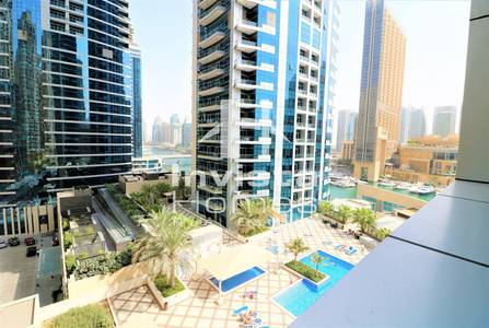 1 Bedroom Apartment for Rent in Dubai Marina, Dubai - 1 Bed & Storage|Dubai Marina| Great View