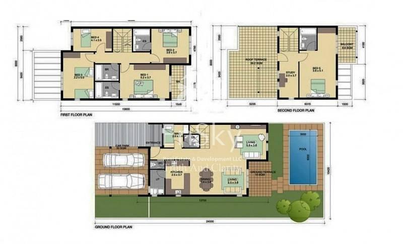 19 Single Row villa perfect for investors.