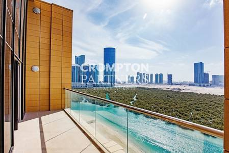 5 Bedroom Penthouse for Rent in Al Reem Island, Abu Dhabi - 5++ with Terrace. Brand New. Balcony Unit.