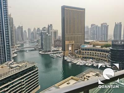 1 Bedroom Apartment for Rent in Dubai Marina, Dubai - Marina View   High Floor   Available Dec