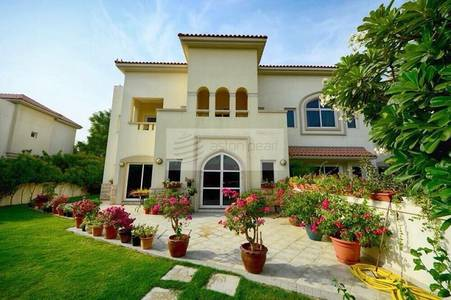 4 Bedroom Villa for Sale in Dubai Festival City, Dubai - Al Badia Res. - 4BR+Maid - Festival City