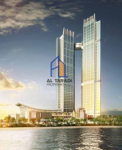 1 Bedroom Flat for Rent in Corniche Area, Abu Dhabi - Vacant 1 Bedroom Apartment in Nation Tower Corniche Area