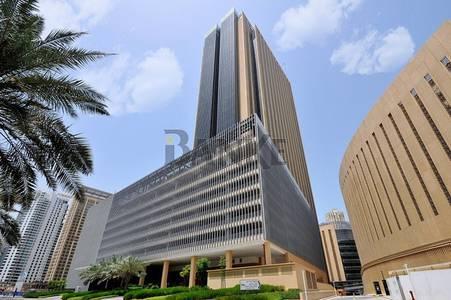 Office for Sale in Dubai Marina, Dubai - Semi-fitted office | Marina Plaza | Dubai Skyline view