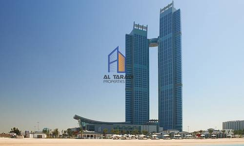 3 Bedroom Apartment for Rent in Corniche Area, Abu Dhabi - 3 BR Duplex Apartment in Nation Towers with full Facilities.