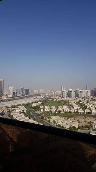 FULLY FURNISHED 1 BHK FULL GOLF VIEW AVAILABLE ELITE SPORTS 8 DUBAI SPORTS CITY AT 50K/3 OR 4 CHQS