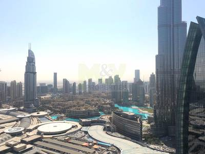 3 Bedroom Apartment for Rent in Downtown Dubai, Dubai - Stunning 3Br+ Maid's Hotel Serviced apartment on high floor