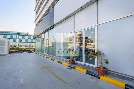 Shop for Rent in Dubai Media City, Dubai - Available retail space for rent in Concord