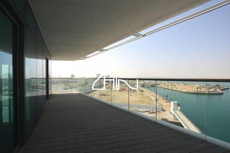 3 Bedroom Flat for Rent in Al Raha Beach, Abu Dhabi - Hot Deal Sea View Large 3+M with Balcony