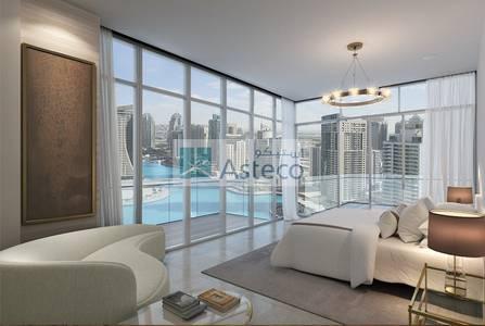 2 Bedroom Apartment for Sale in Dubai Marina, Dubai - Off-Plan Sea/Marina view 2BR/ LIV Residences