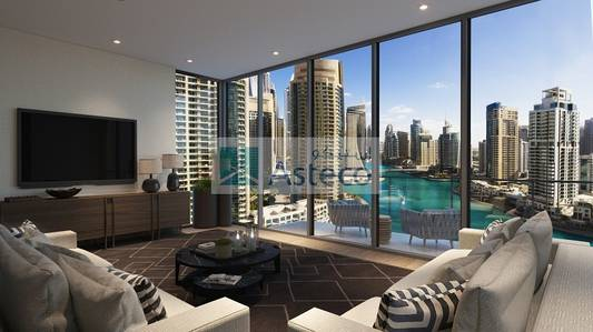 3 Bedroom Flat for Sale in Dubai Marina, Dubai - Off-Plan Marina view 3BR/ LIV Residences