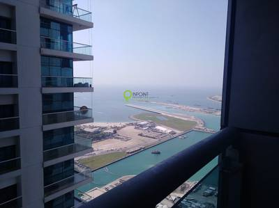 2 Bedroom Apartment for Rent in Dubai Marina, Dubai - High floor| Sea View| Large 2BR| Princess