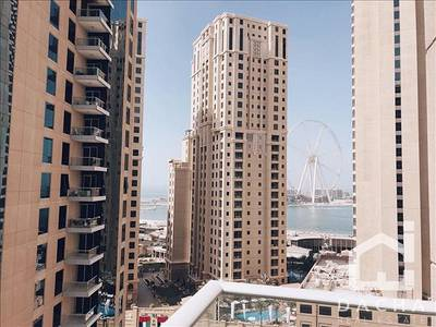 1 Bedroom Apartment for Rent in Dubai Marina, Dubai - large 1 bed chiller free amazing view