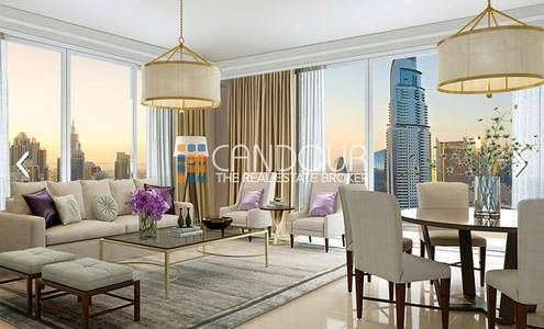 2 Bedroom Apartment for Sale in Downtown Dubai, Dubai - 0% Premium | Mid Floor | Boulevard Point